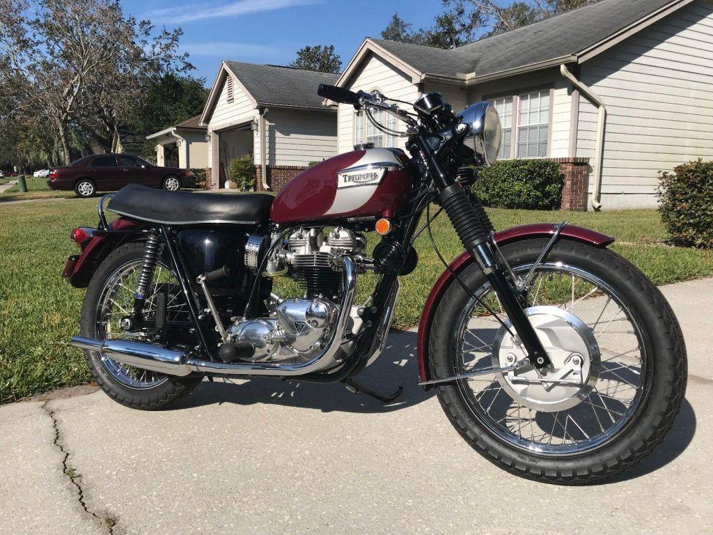 1970 Triumph Bonneville T120r For Sale