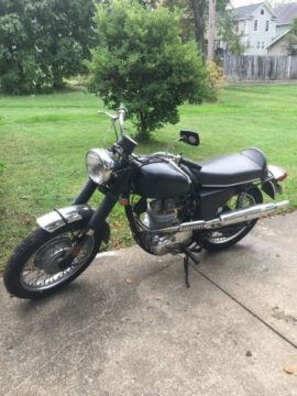 classic 1970 BSA Scrambler for sale