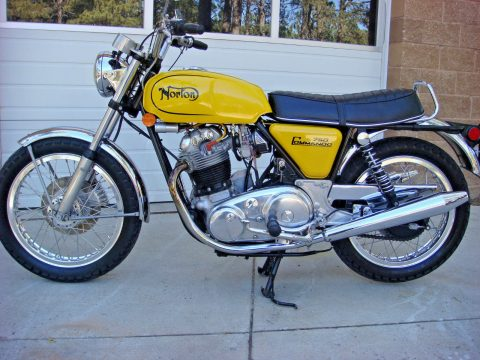 1973 Norton Commando 750 – nicely maintained for sale