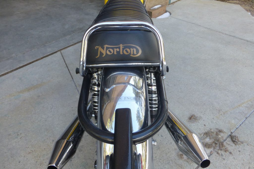 1973 Norton Commando 750 – nicely maintained
