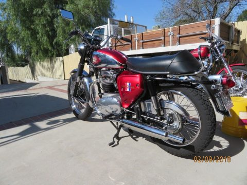 1967 BSA A65 in exceptional condition for sale
