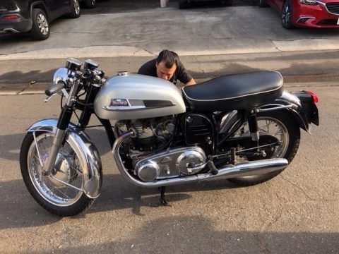 GREAT 1967 Norton Atlas for sale