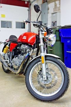 NICE 2014 Royal Enfield Continental GT for sale
