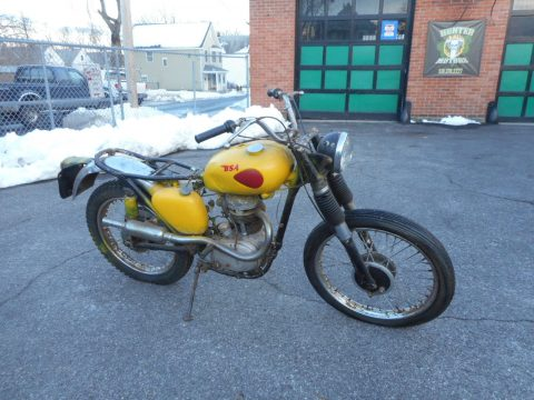 NICE 1961 BSA SCRAMBLER for sale