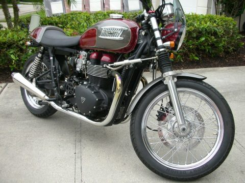 GREAT 2008 Triumph Bonneville for sale