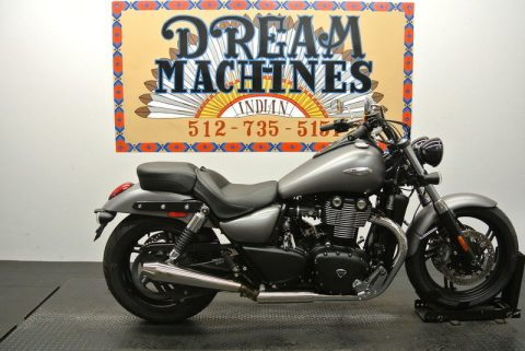 NICE 2015 Triumph Thunderbird Storm Matte ABS for sale