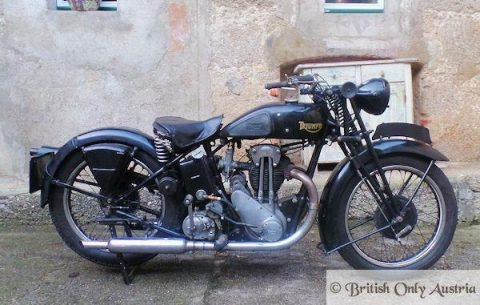 1934 Triumph – RUNS WELL for sale