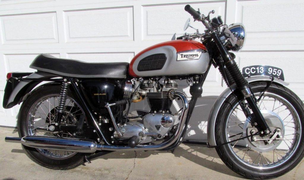 Beautiful 1969 Triumph Bonneville For Sale