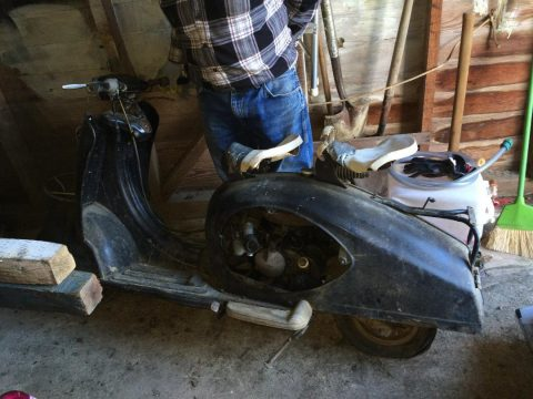 1956 Triumph Tessy scooter for sale