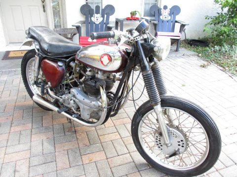 1957 BSA B31 A10 Original Cafe Racer Barn Garage Find for sale