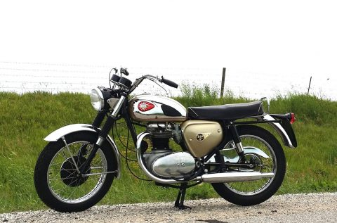 1965 BSA A65 Lightning 650 Ground up Restoration for sale