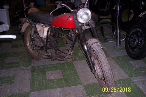 1969 BSA B25S Starfire for sale