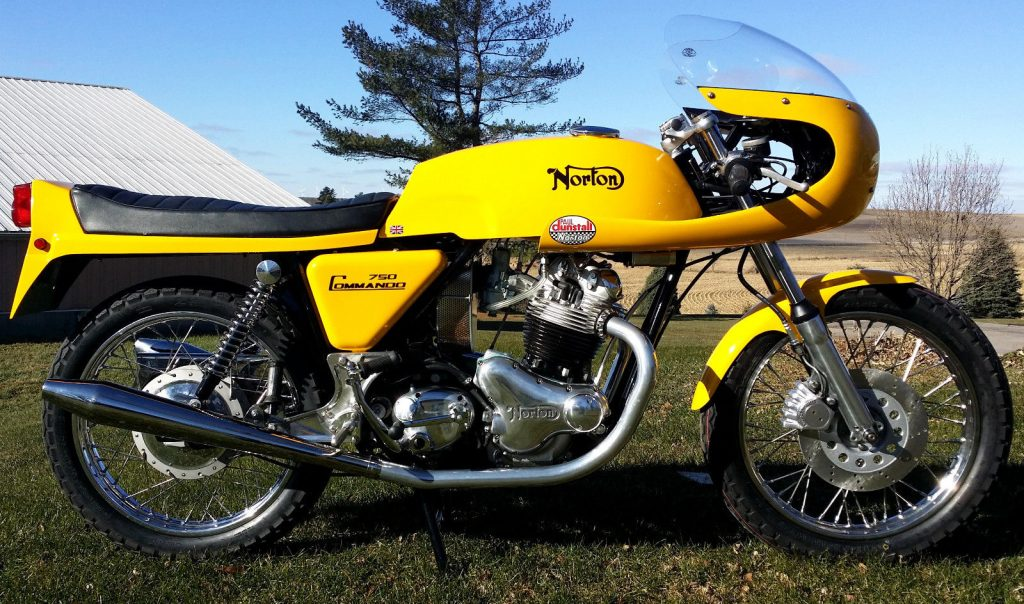 1972 Norton Commando 750 Cafe racer