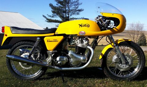 1972 Norton Commando 750 Cafe racer for sale