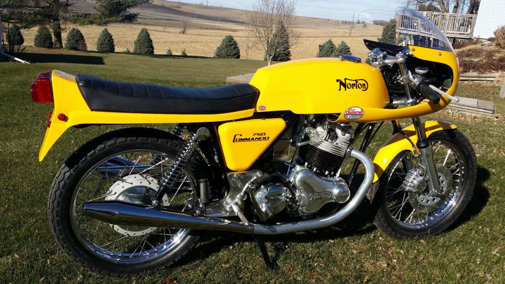 1972 Norton Commando 750 Cafe racer