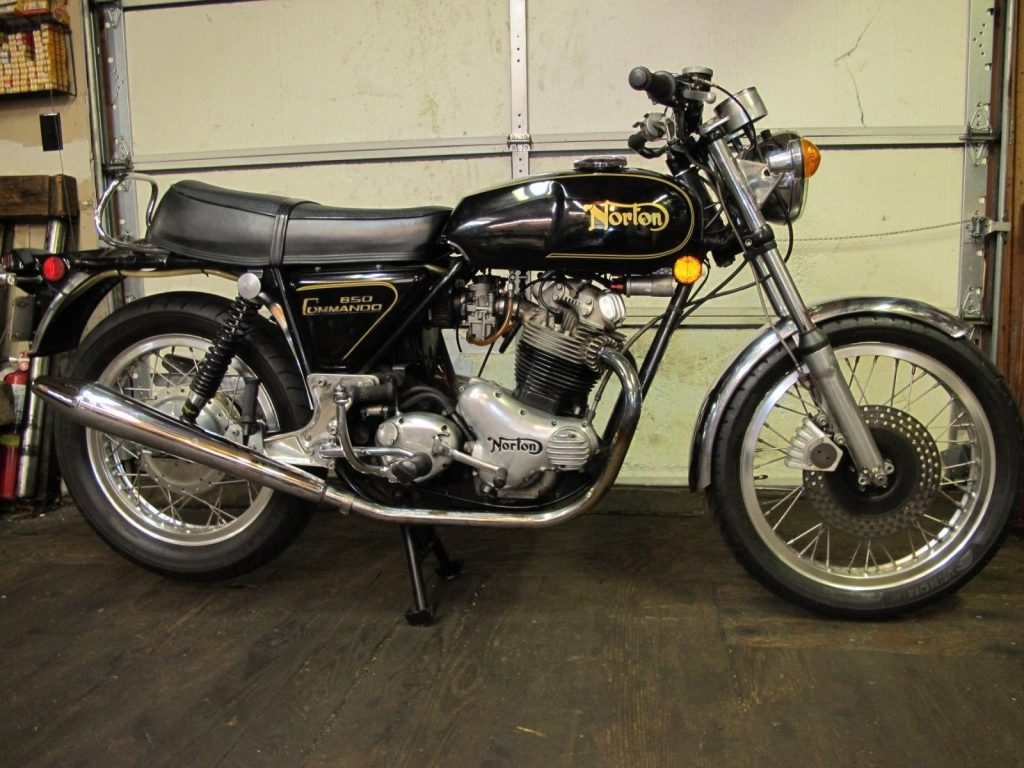 1973 Norton Commando 850 with all the Necessary mods to make it perfect