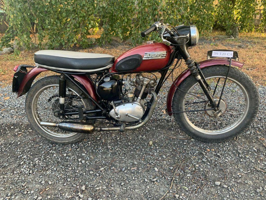 1959 Triumph Cub Competition A
