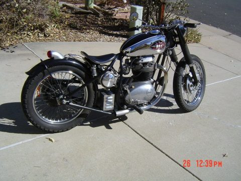 1969 BSA Thunderbolt Bobber for sale