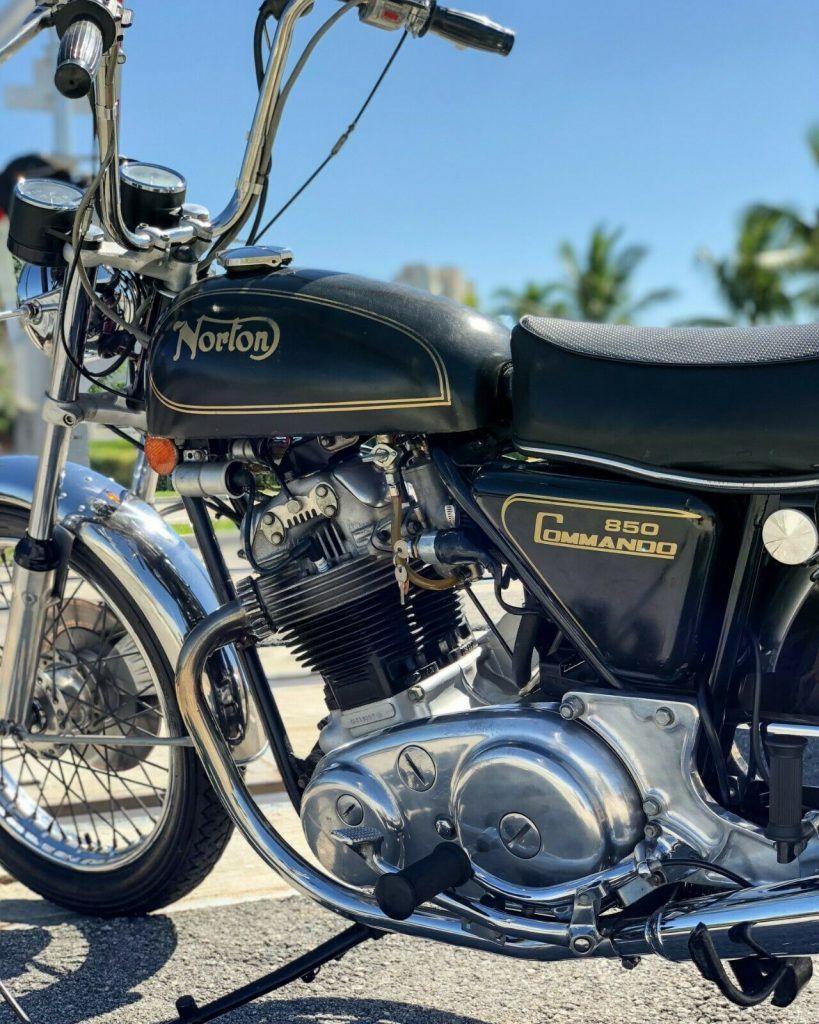 1974 Norton Commando Hi Rider 850