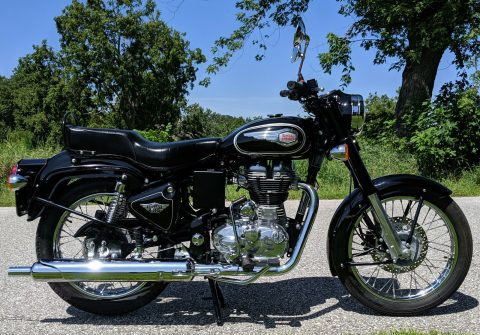 2016 Royal Enfield Bullet 500, ONLY 673 Miles for sale